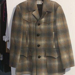 Vintage Pendleton Western Wear Wool Jacket 44